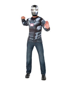 Civil War War Machine Shirt and Mask Set