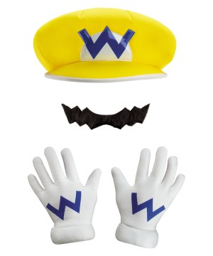 Wario Boys Costume Kit