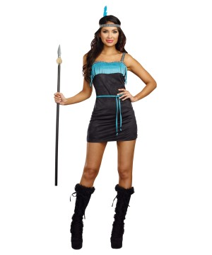 Wild At Heart Indian Women Costume
