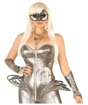 Womens Futuristic Corset Costume