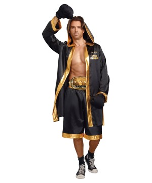 World Champion Boxer Men Costume