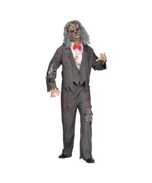 Zombie Groom Men Costume