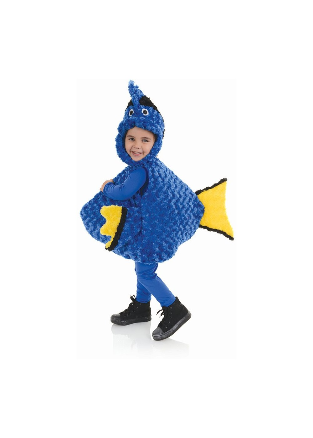 Little blue fishie toddler costume general category for Baby fish costume