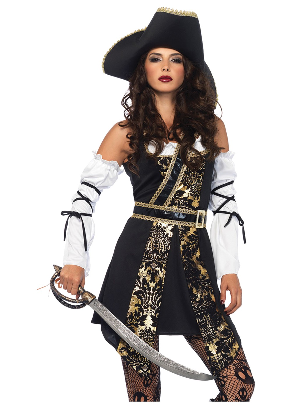 Adult Pirate Costume - Men, Women Pirate Halloween Costumes On Sale