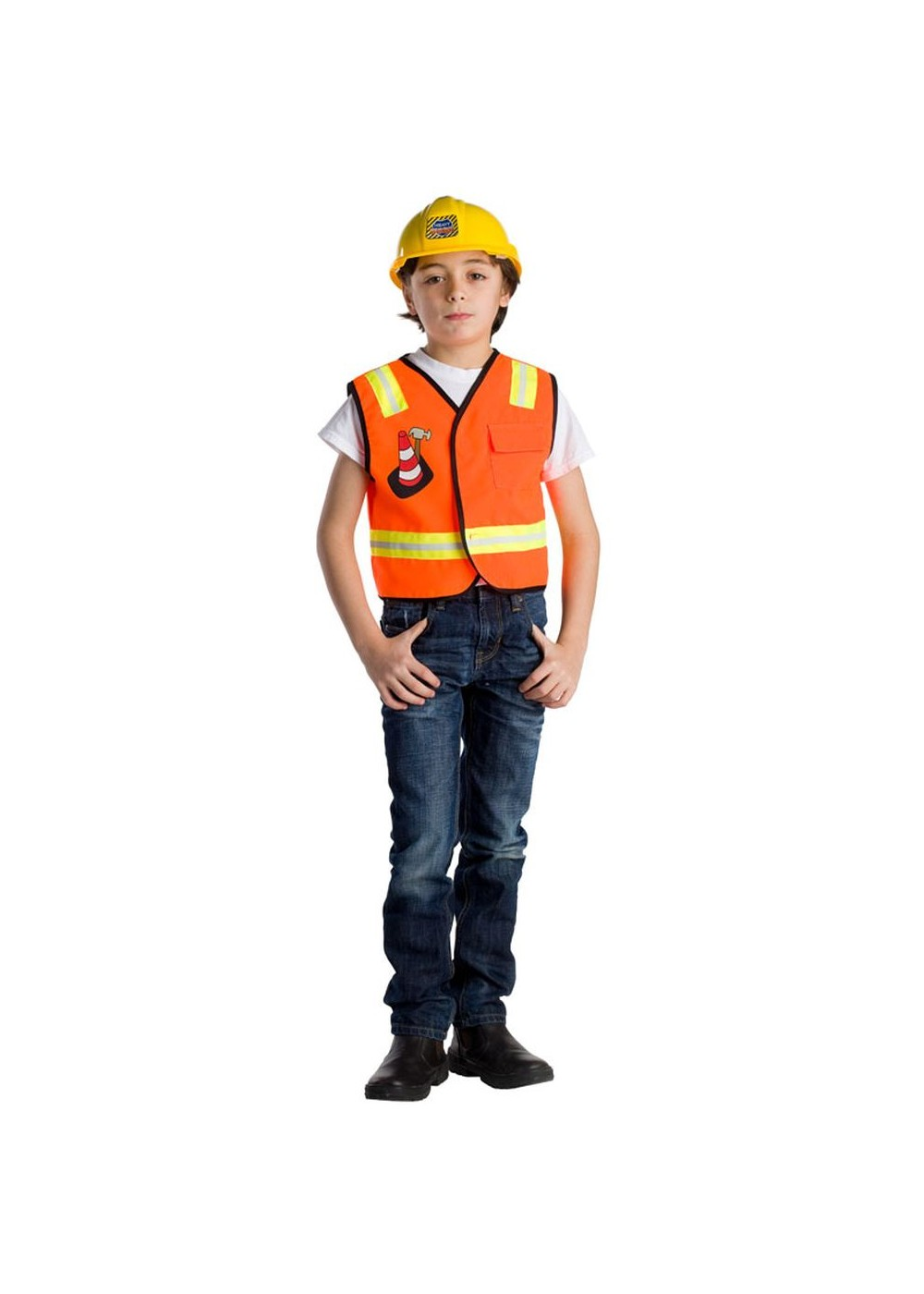 Idea brilliant Adult construction worker costume