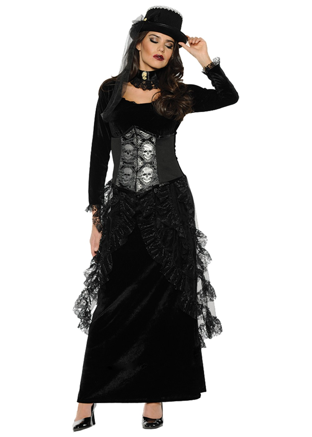 Dark Mistress Women Costume - Holiday Costumes