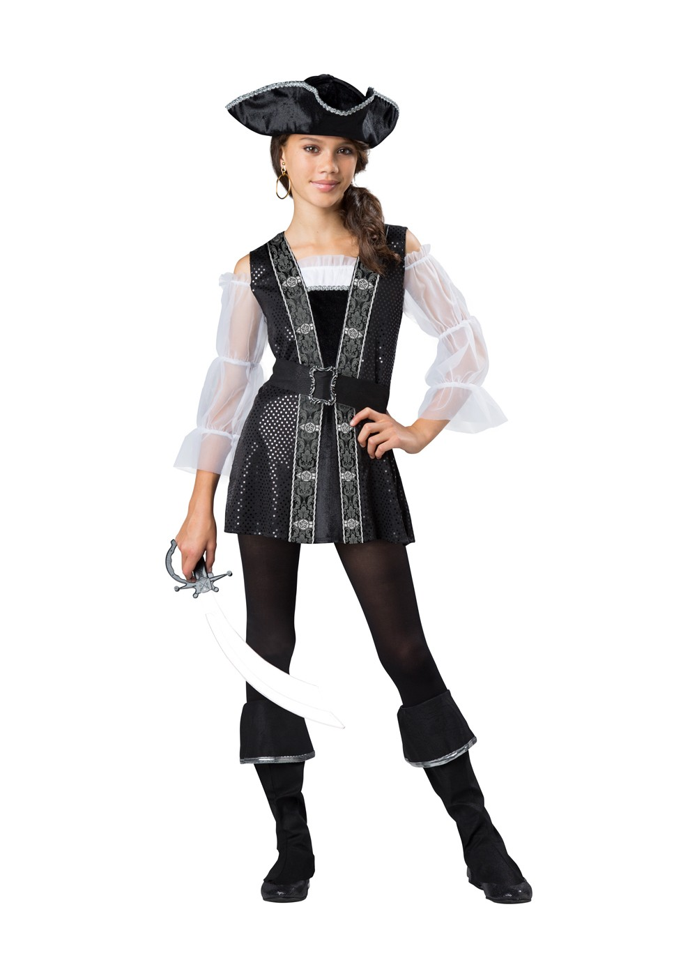 Tween girl pirate costume - photo#5