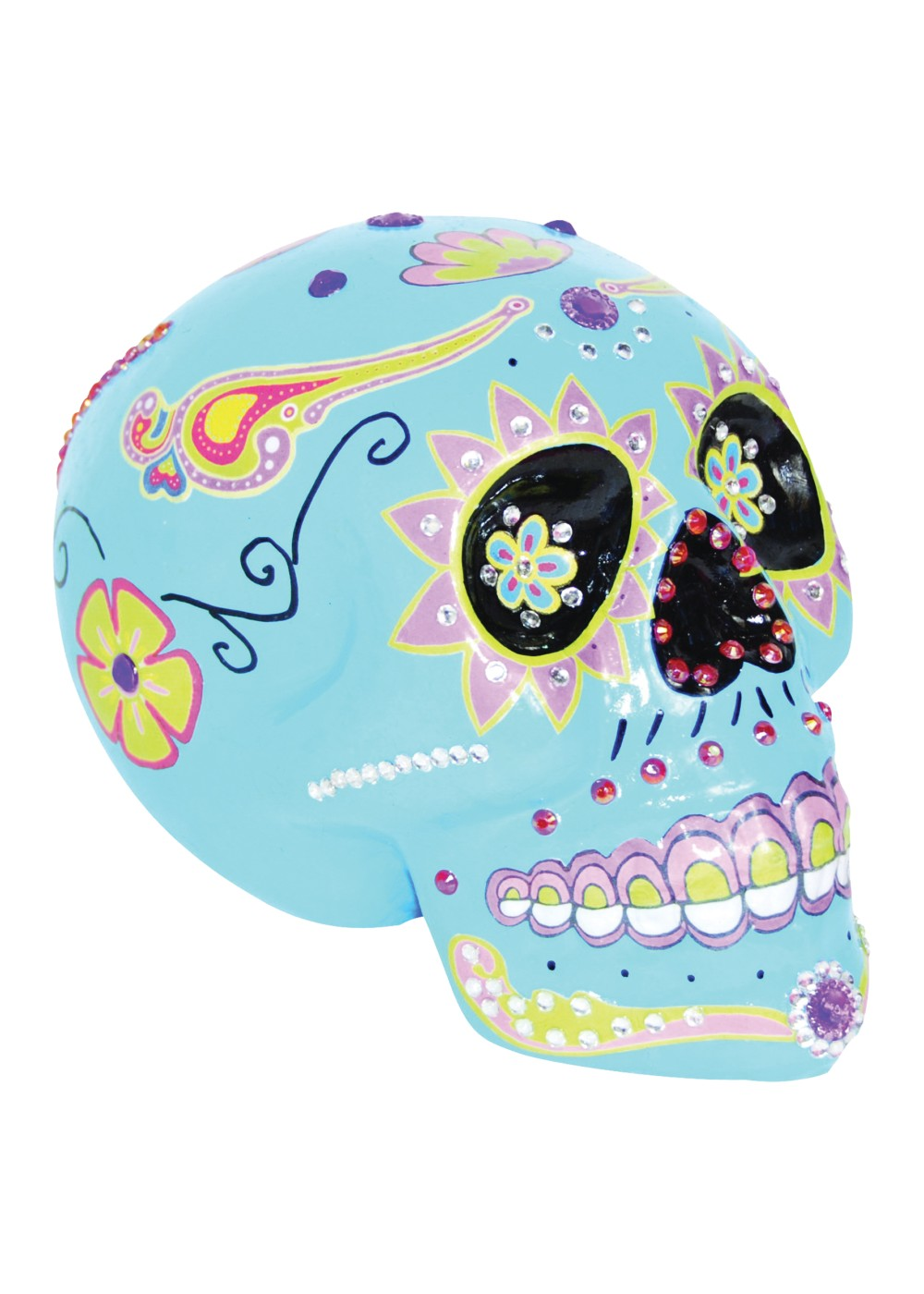 Day of the Dead Sugar Skull Decoration - Decorations