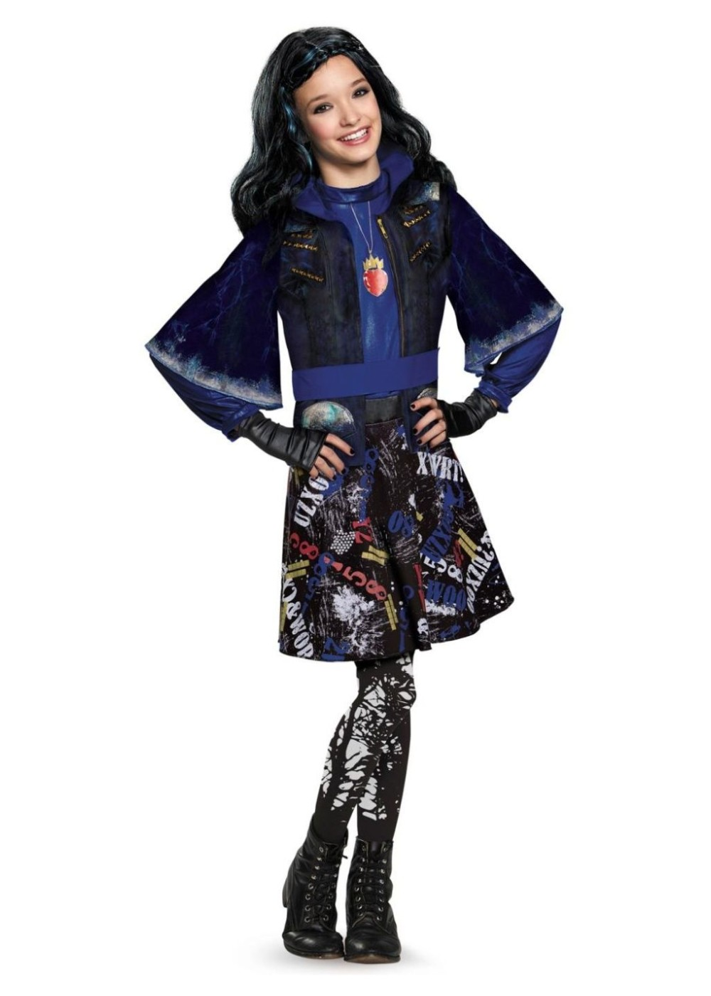 Disney Descendants Evie Isle Of The Lost Girls Costume And