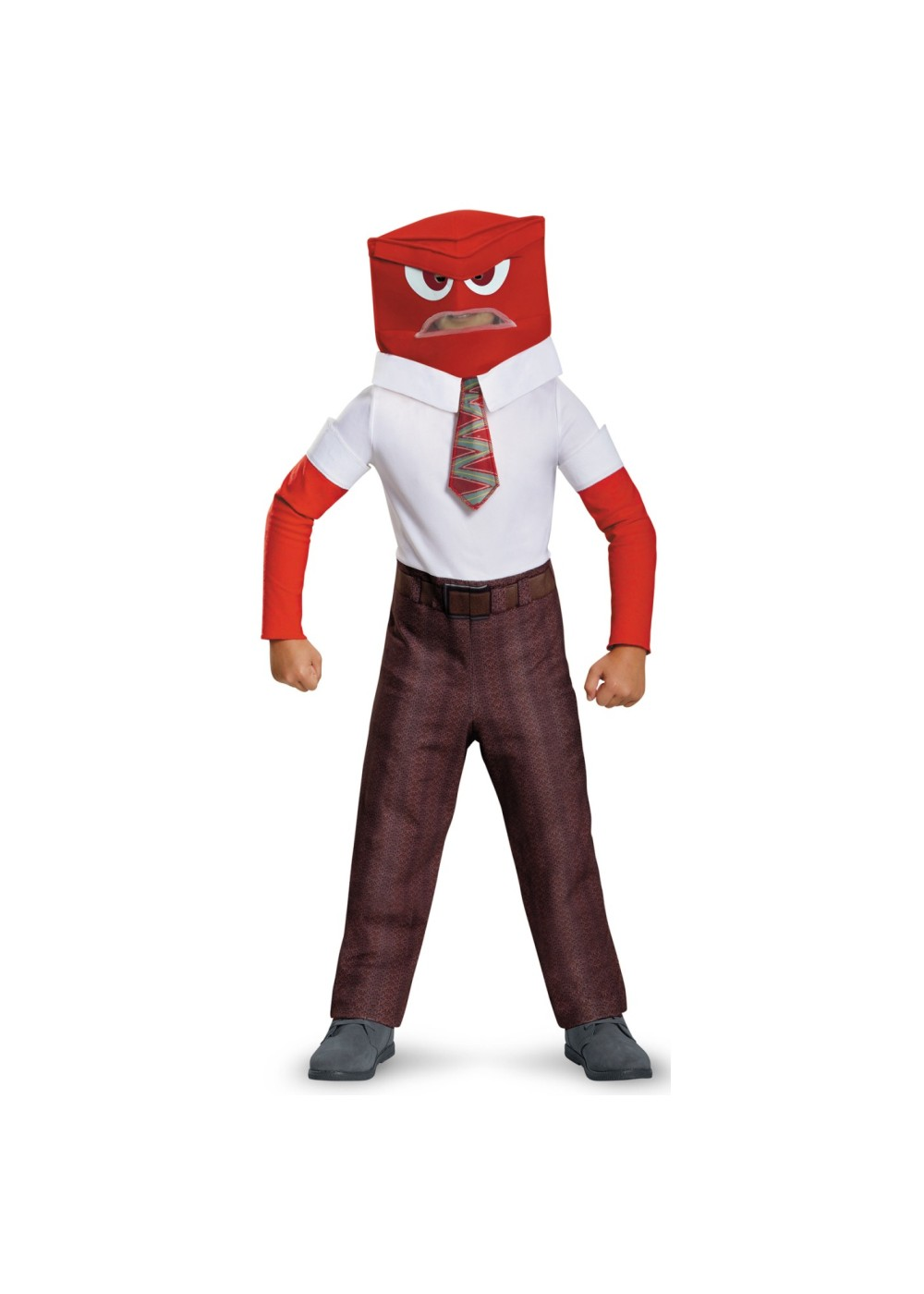 Disney Inside Out Boys Anger Costume