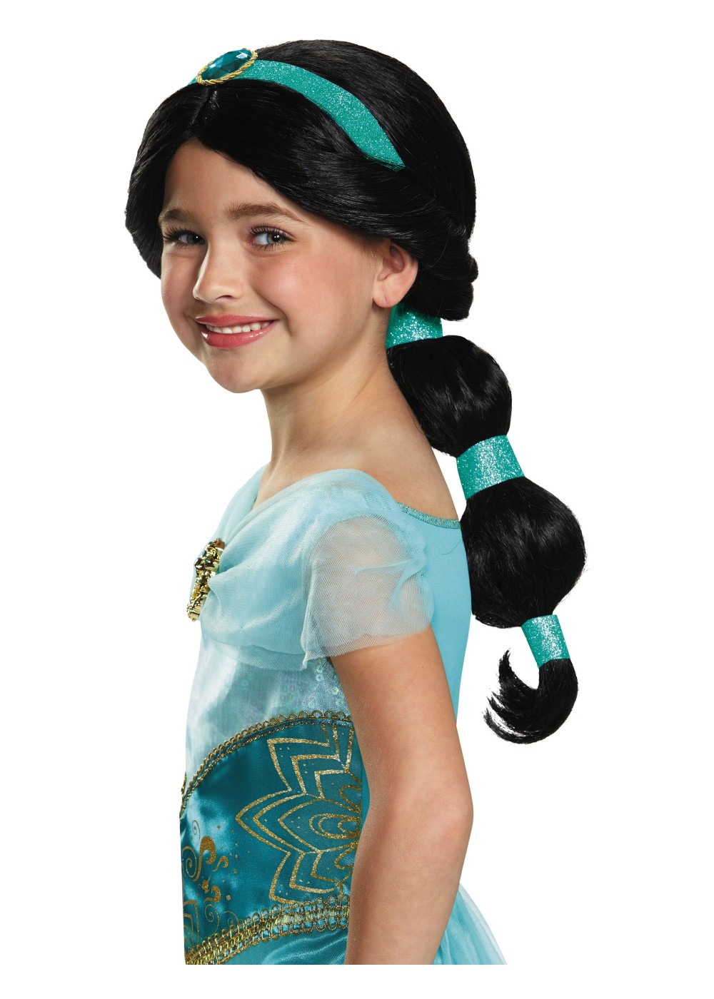 Disney Princess Jasmine Girls Wig Wigs