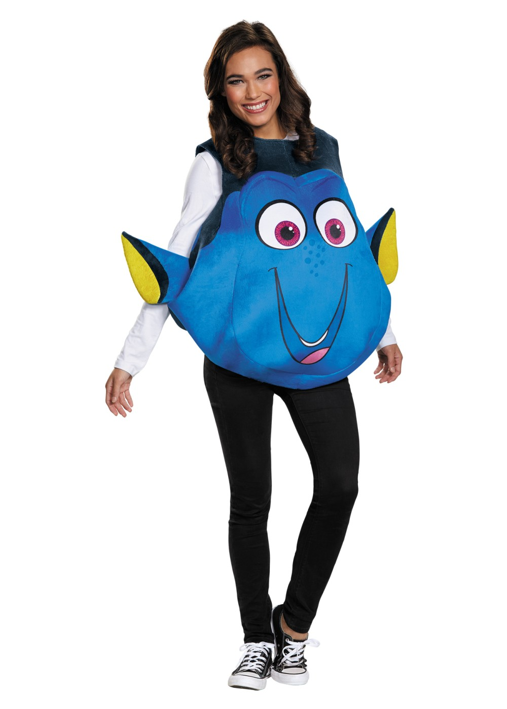 Dory fish costume asian costumes for Fish costume adult