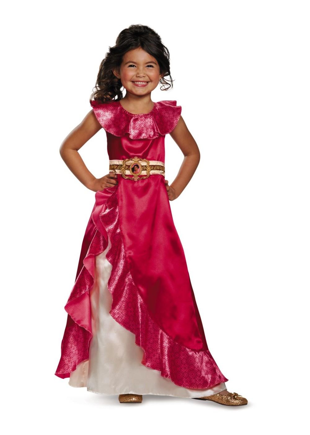 Elena of Avalor Adventure Dress Girl Disney Costume - Girls Disney Costumes - Kids Disney Dress At WonderCostumes.com