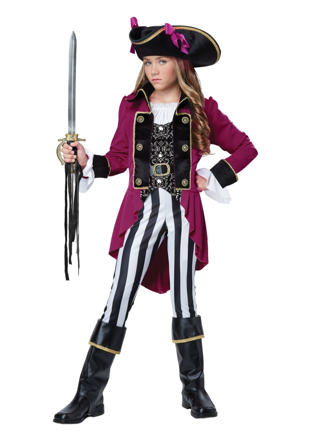 Tween girl pirate costume - photo#3