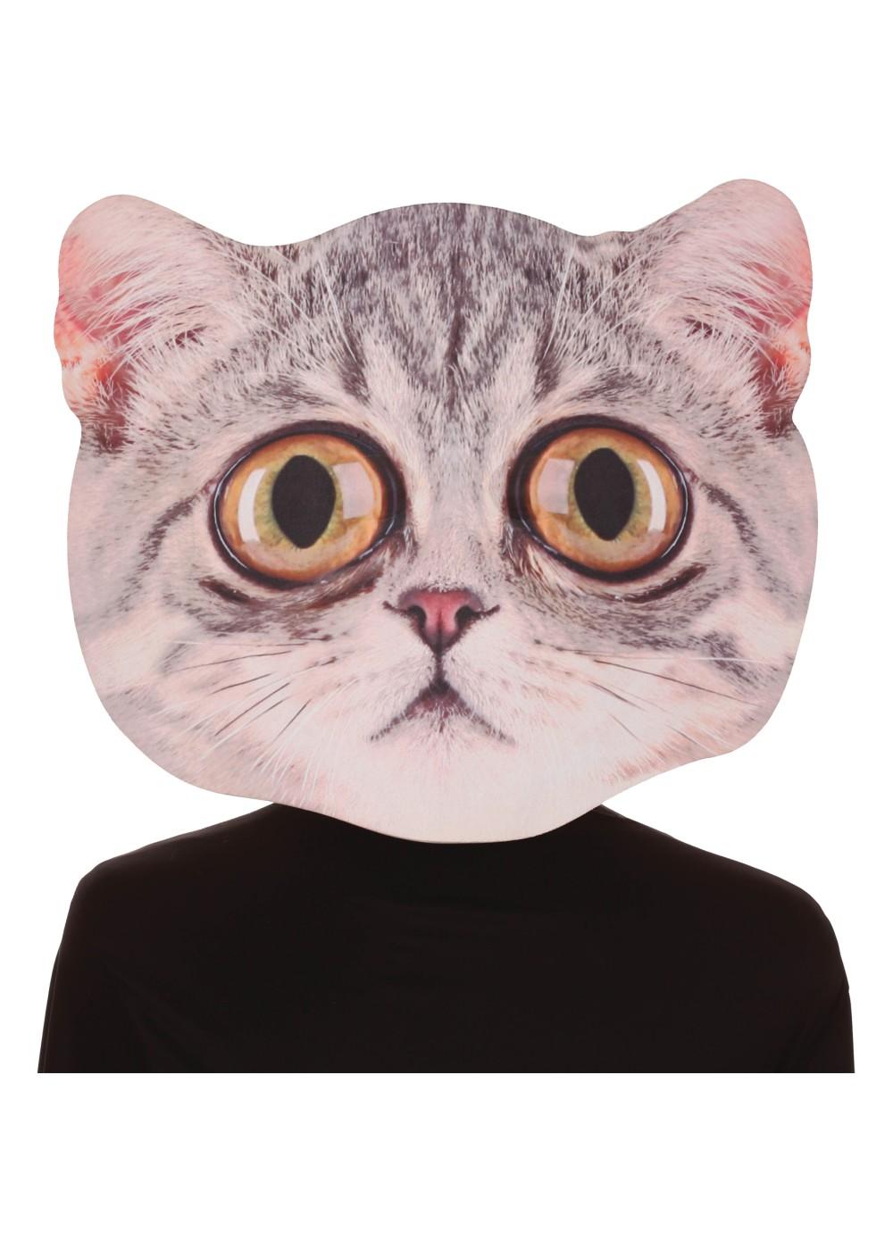 Giant Eyes Cat Makeup