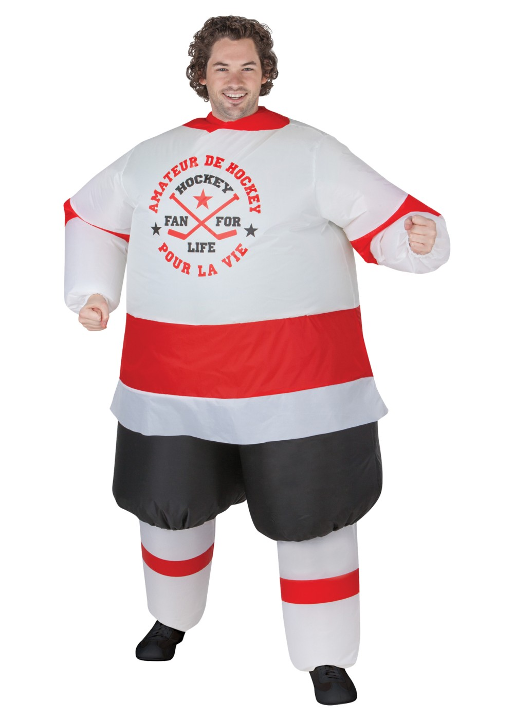 inflatable hockey player costume sports costumes