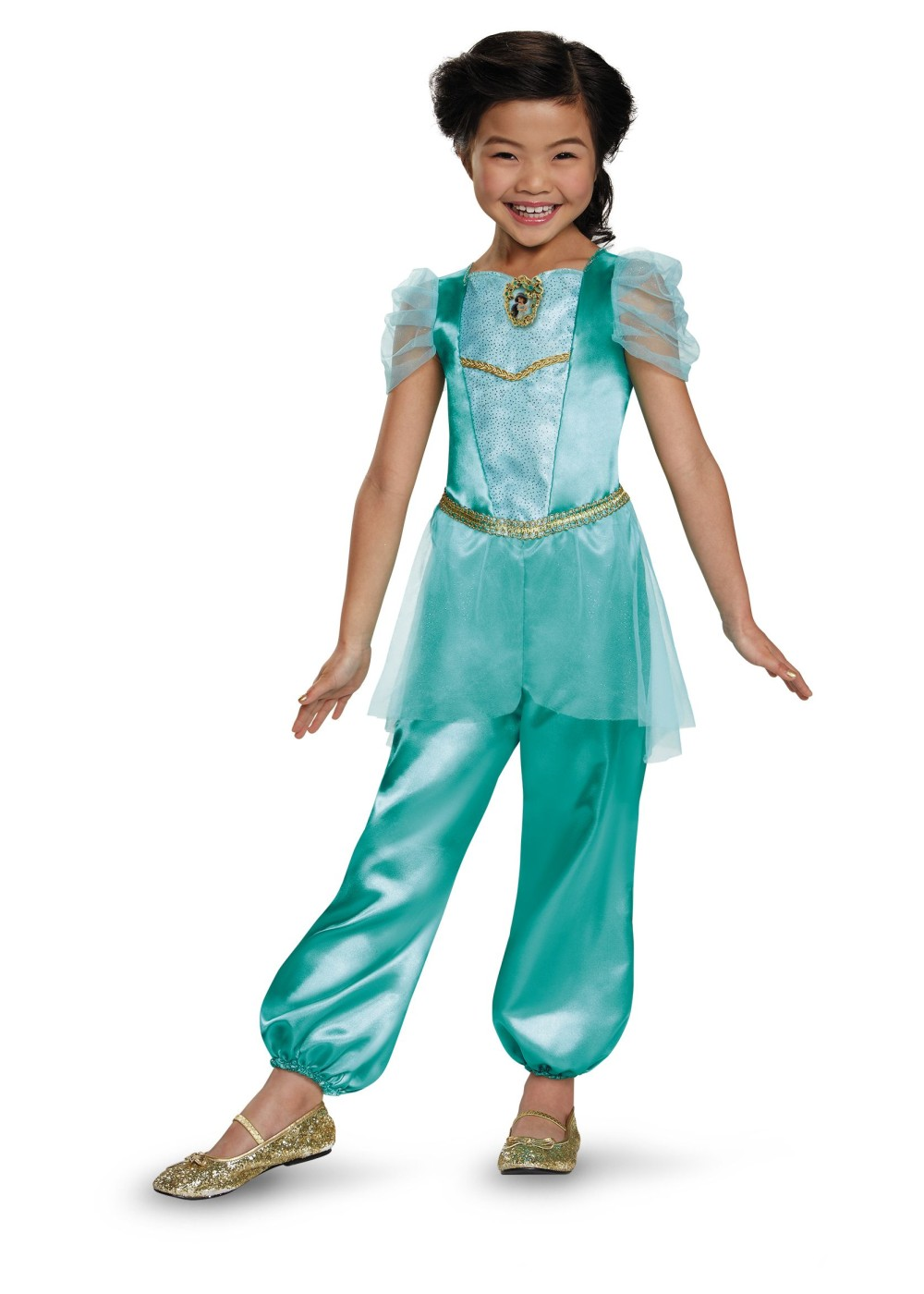 princess jasmine classic girl costume disney costumes. Black Bedroom Furniture Sets. Home Design Ideas