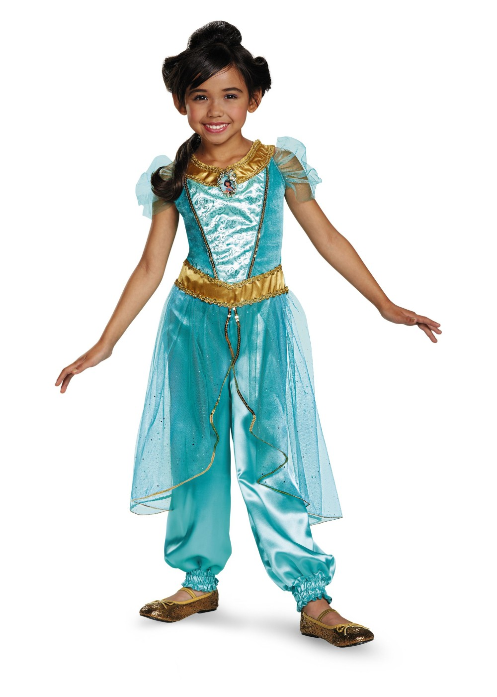 Princess Jasmine Halloween Costume Kids