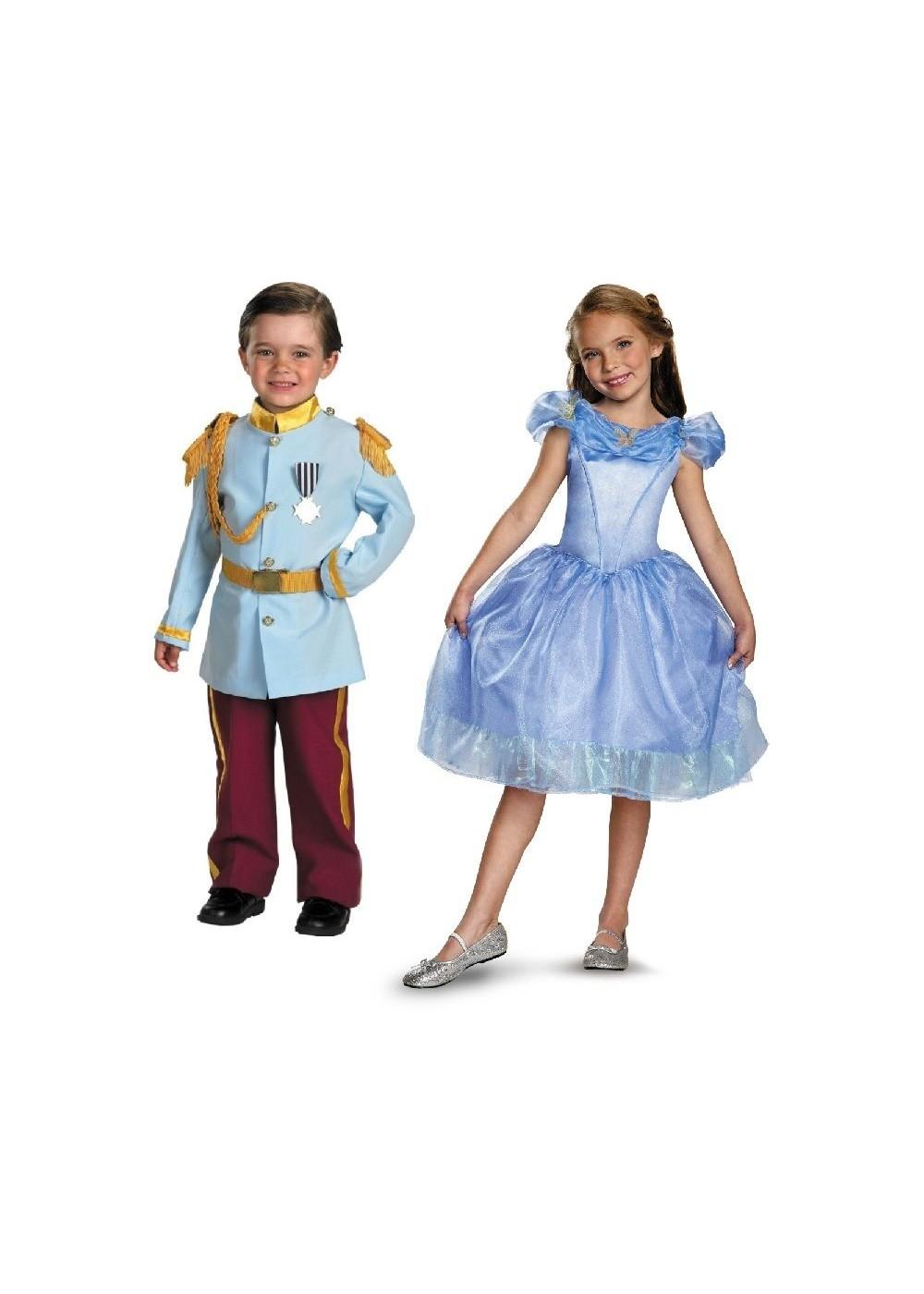 Kid's Little Cinderella and Prince Charming Kit - Movie ...