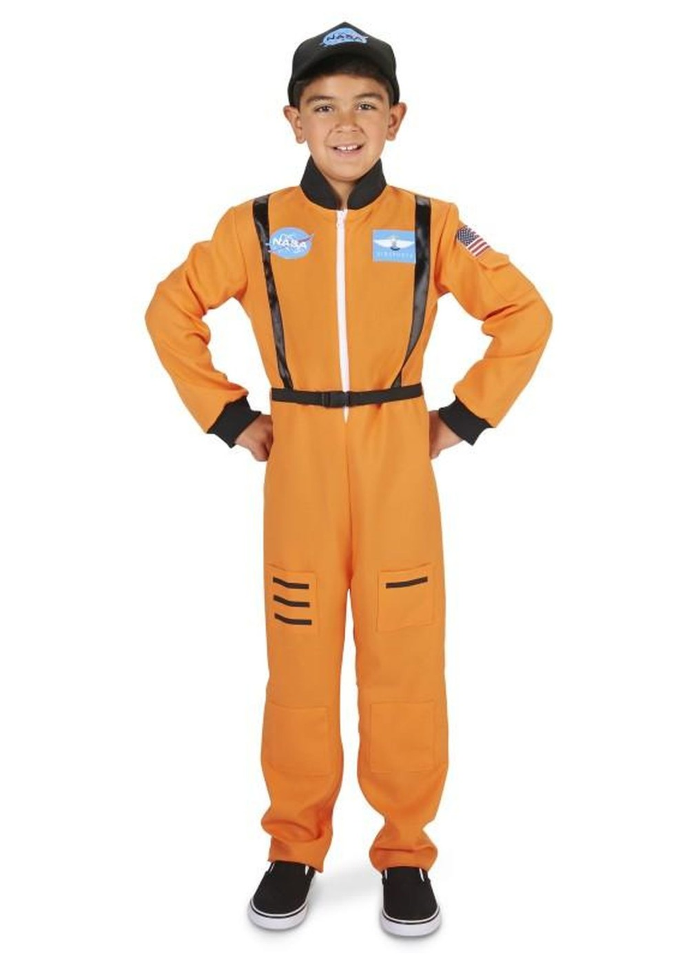 Orange Boys Astronaut Costume