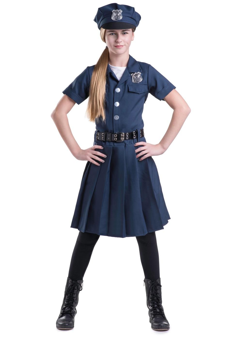 Police Girls Dress Costume - Professional Costumes