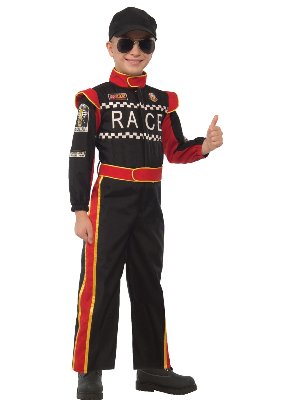Race Car Driver Boys Costume