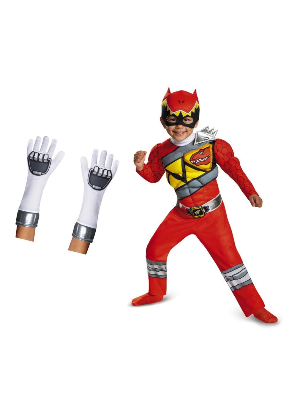 adult red power ranger costume