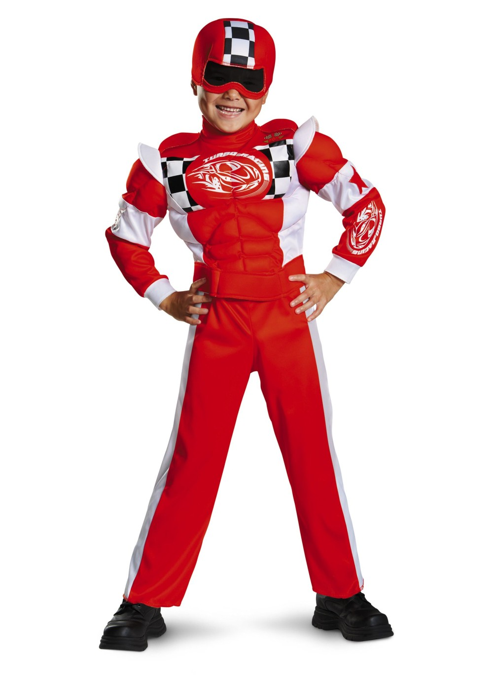 Boys Red Race Car Drive Costume Sports Costumes