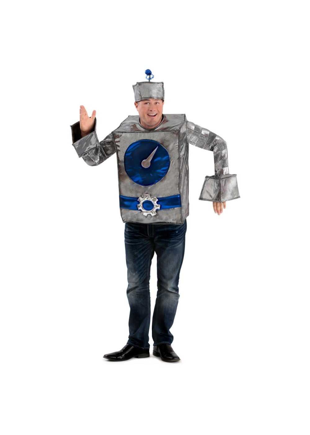 robot man men costume funny costumes