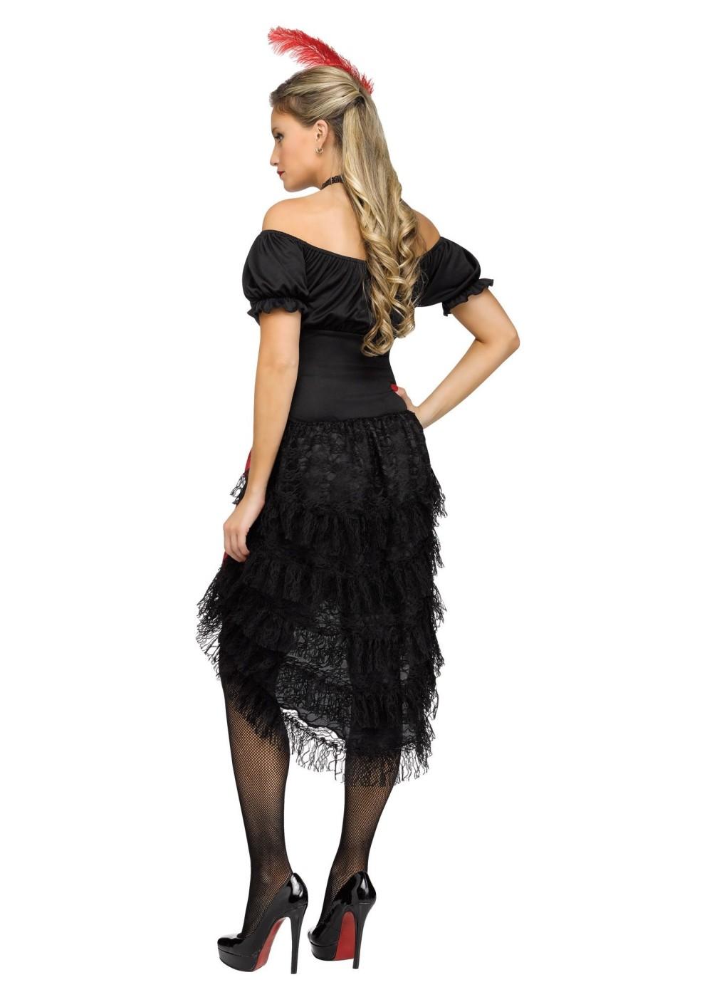 Saloon Gal Women Costume Historical Costumes