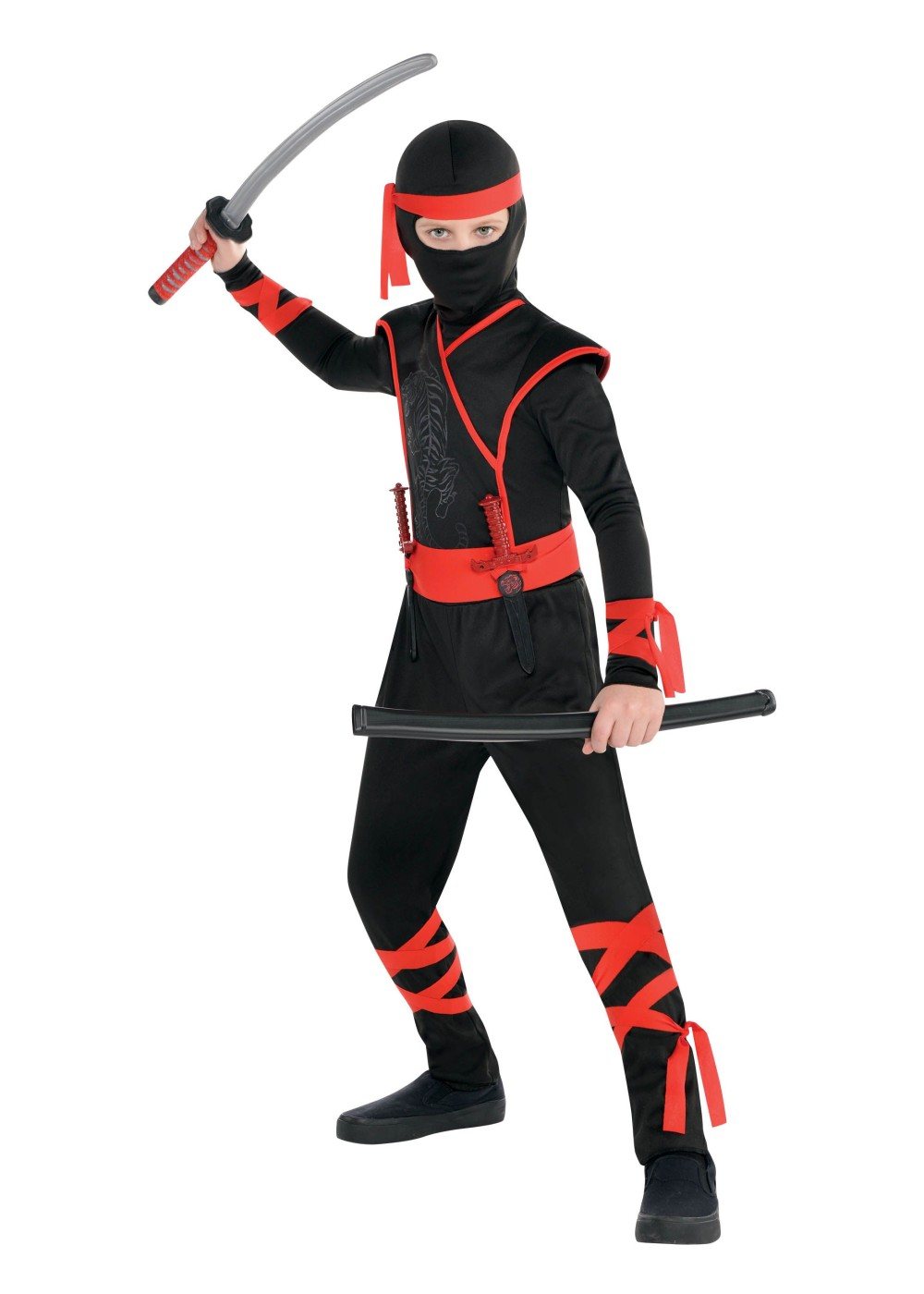 Halloween Witch Decorations Shadow Ninja Boys Cost...