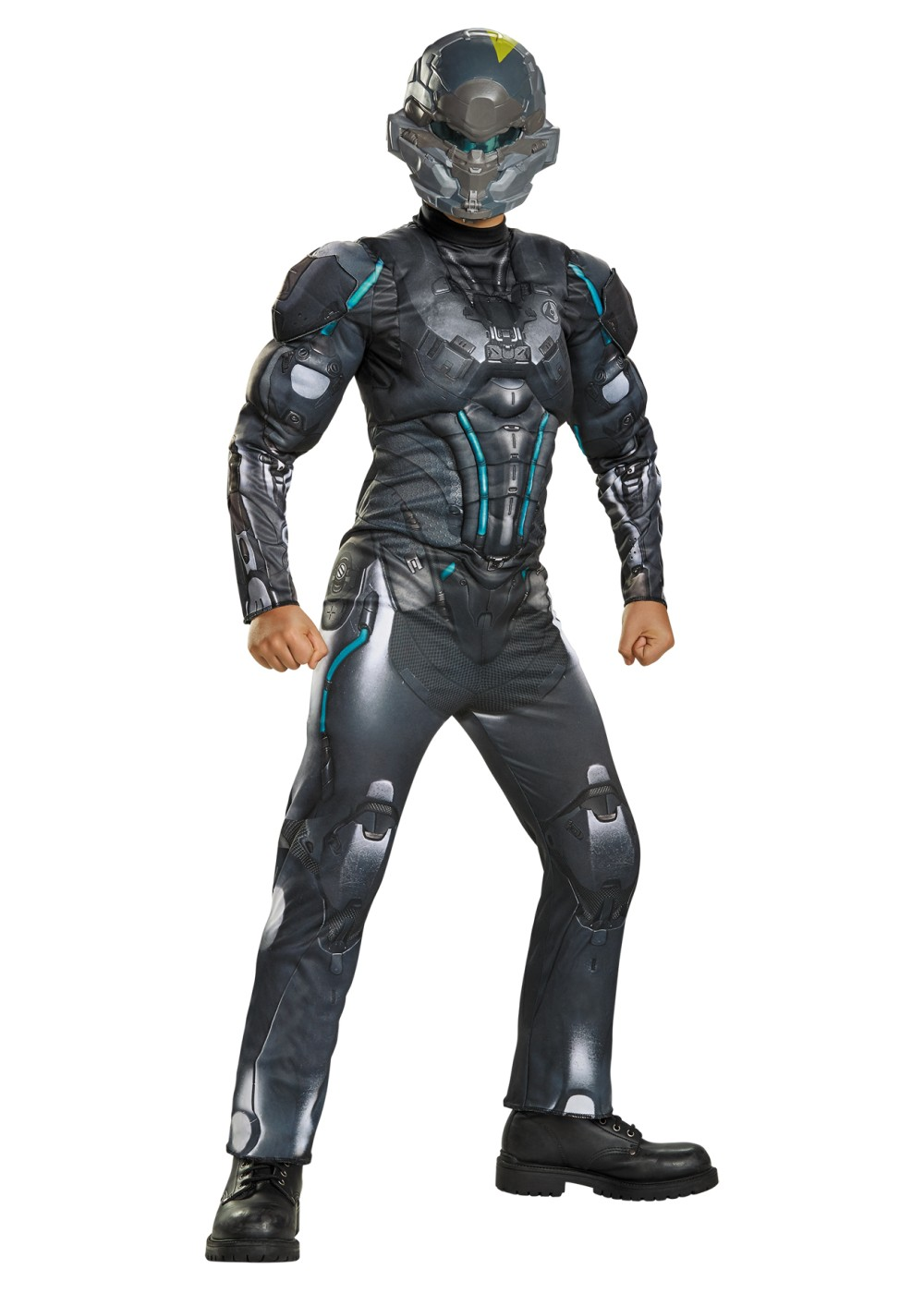 Spartan Locke Muscle Boys Costume Video Game Costumes