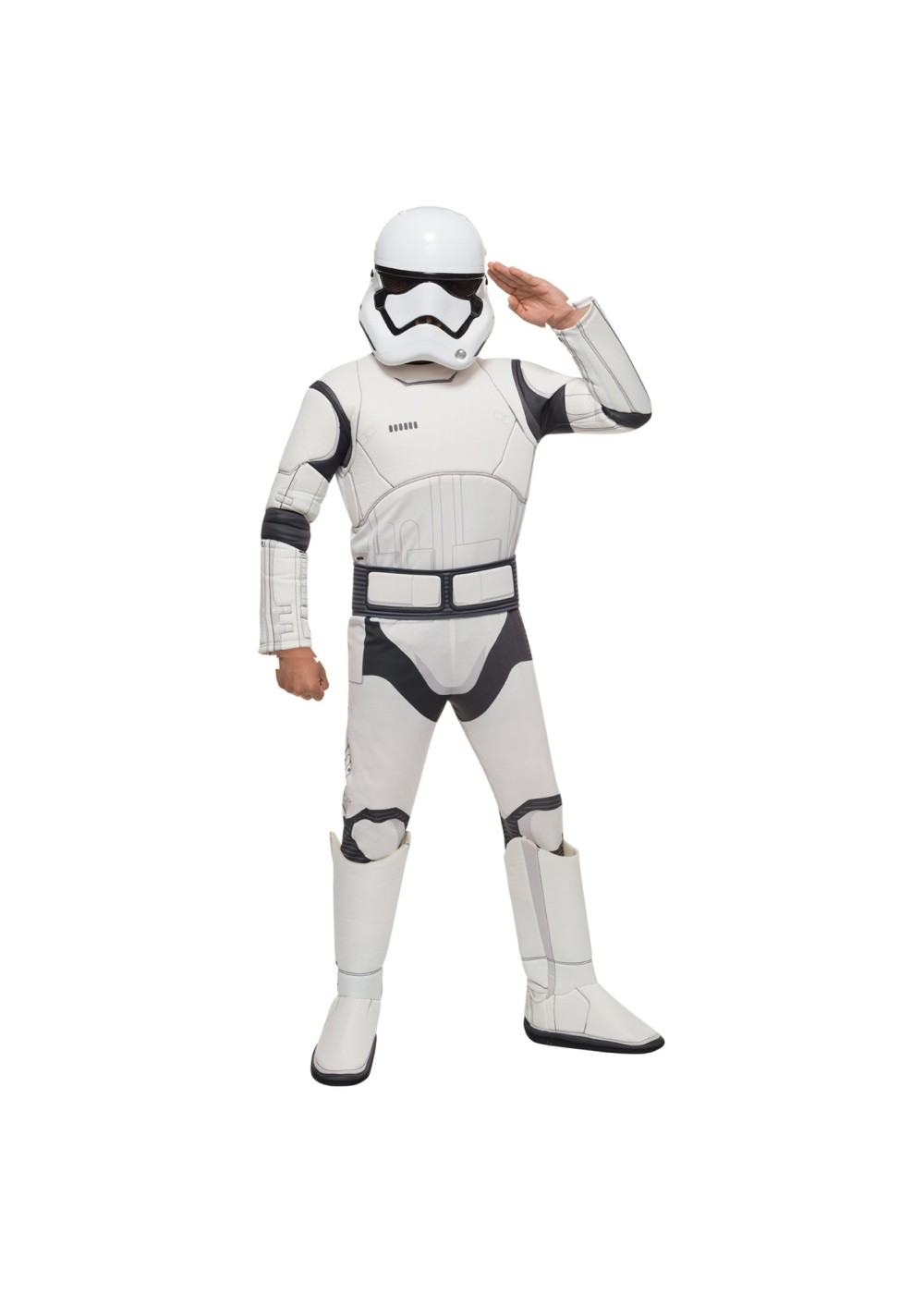 Star Wars Episode Vii Stormtrooper Boys Costume Deluxe
