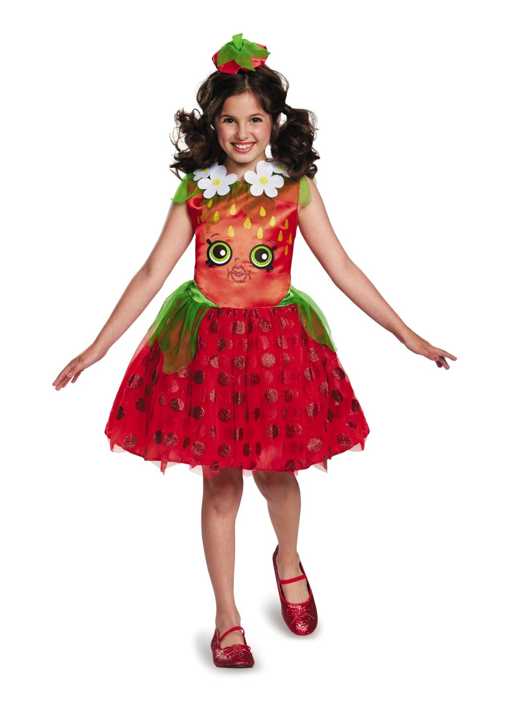 Sweet Strawberry Girls Costume Food Costumes