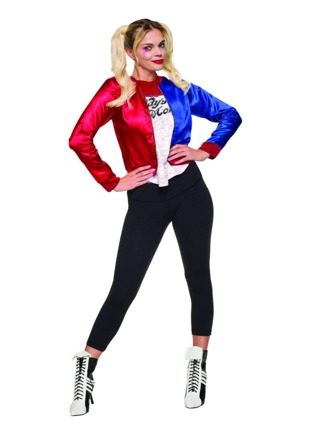 Suicide Squad Harley Quinn Women Costume Wig Movie