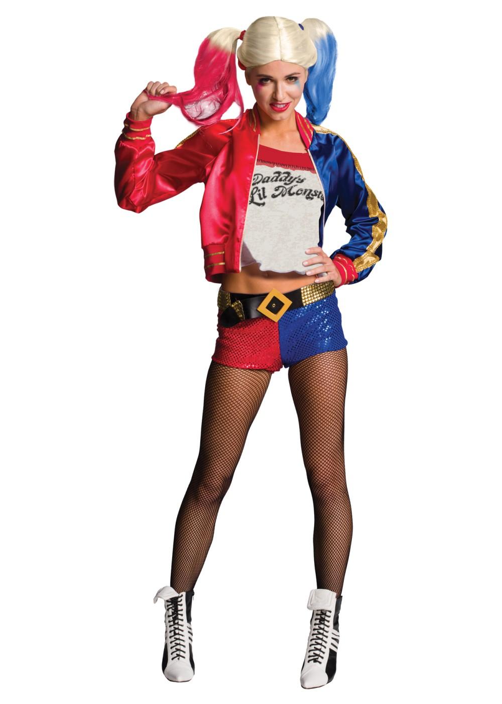 Suicide Squad Harley Quinn Women Costume