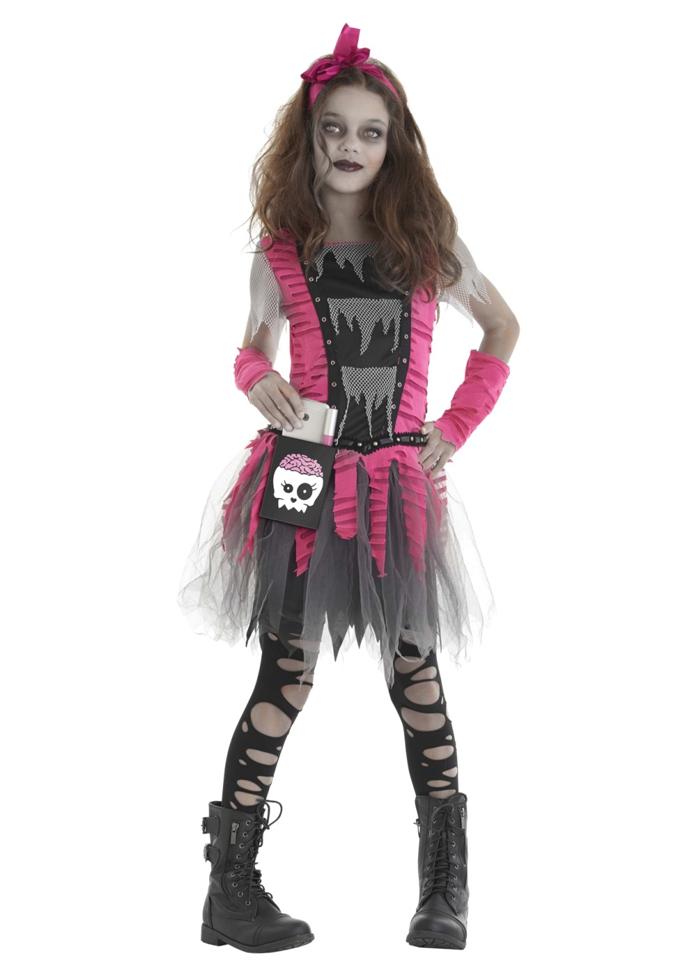 zombie girl costume zombie costumes. Black Bedroom Furniture Sets. Home Design Ideas