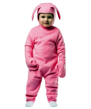 A Christmas Story Toddler Pink Bunny Costume