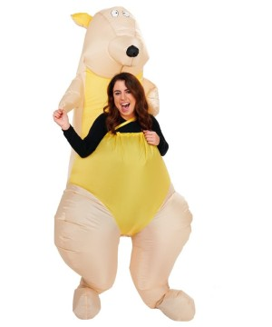 Adult Kangaroo Inflatable Costume