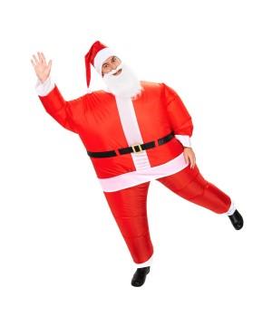 Adult Santa Inflatable Costume