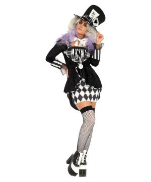 Alice in Wonderland Mad Hatter Women Costume