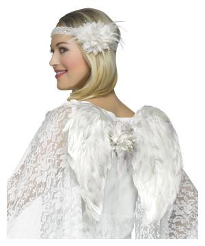 White Angel Women Costume Kit