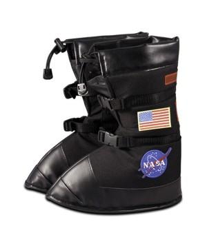 Astronaut Boys Costume Black Boots