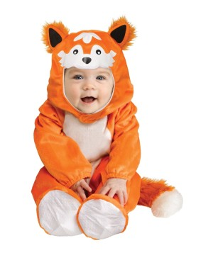 Baby Orange Fox Costume