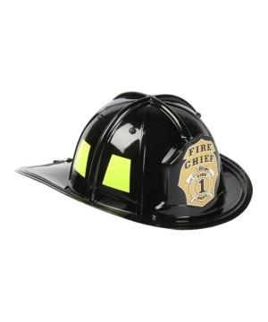 Black Firefighter Boys Helmet