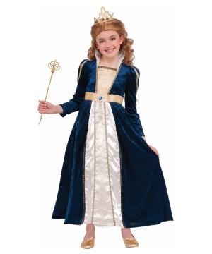 Royal Navy Princess Girls Costume