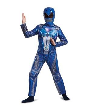 Power Rangers Movie Blue Ranger Boys Costume