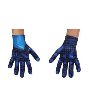 Blue Power Ranger Boys Costume Gloves