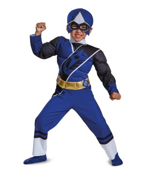 Blue Power Ranger Toddler Boys Costume