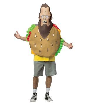 Bob's Burgers-meatsquatch Mens Mask